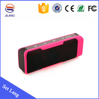 High quality J6 Set Lang cheap mini mp3 player with built in speaker