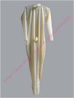 2015 new fashion Sex Transparent latex catsuit /zentai for adult garment with condom/penis cover without ball plus size