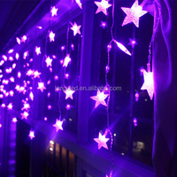 led wireless falling star led christmas lights for christmas /party/wedding