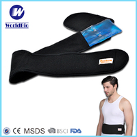 Instant gel heating pad for waist and belly