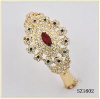 22k gold bangles models design rhinestone bangle bracelets