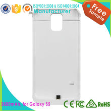Top Selling 3800mah Extended And Best Battery Case For Samsung Galaxy S5