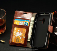 China Supplier Wallet Design Cover Pu Leather Mobile Phone Case For for Alcatel Pixi 3