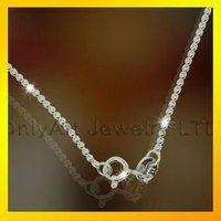 cheap rhodium plated silver 925 or brass ball chain