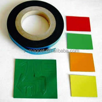 Flexible Rubber Magnets, fridge magnets and adhesive magnetic sheet