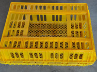 Wholesale price plastic poultry transport cage for sale