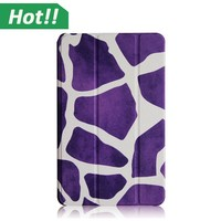 New 7.0 inch Flowers/Animal/Butterful Printing PU Leather Android Tablet Folio Case Cover For Samsung Tab 4 7inch