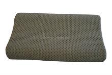 carbon Gel infused Memory foam ergonomic design contour pillow