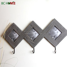 Wooden Picture Photo Frames Wall hook Set of 3