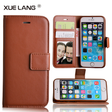 Leather Phone Case For iphone 6, Flip Wallet Phone Cover for iphone 6