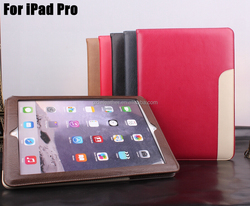 2016 Newest Flip Leather Smart Stand Case For iPad Pro