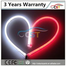 2014 hottest auto part 30cm 45cm 60 85cm dual color & waterproof corolla led daytime running light
