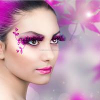 false eyelashes with your own label