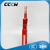 Low voltage high temperature silicone rubber cable