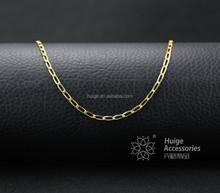 New design initial design simple Gold Necklace Designs wholesale