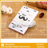 Good quality Mustache Beard Leather Case for iPad Mini