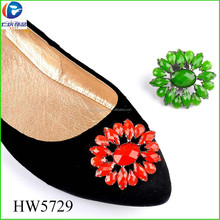 HW5729 fashion jewelry clear acrylic high heeled decorations gao moda shoes buckles for women