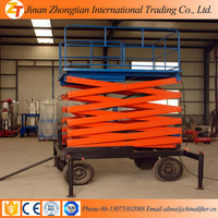 4M China Famous Brand Scissor Man Lift