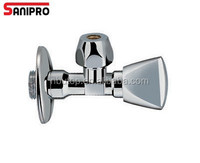 1/2'' high quality heavy duty triangle valve with chrome plated