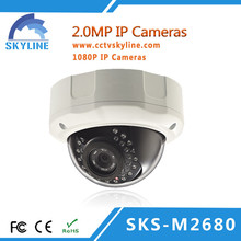 Indoor 2MP IP Camera Popular CCTV Camera In Dubai Intersec Fair