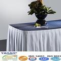 Sala de conferencias de lujo de largo falda de la tabla