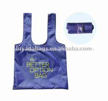 Regalo promocional 100% éster de peso ligero de algodón bolsa de la compra para ir de compras