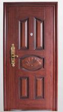 Decorativo puerta de seguridad de interior