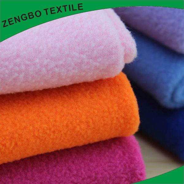 100 polyester anti pilling printed polar fleece fabric