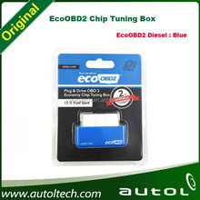 Plug and Drive EcoOBD2 Economy Chip Tuning Box for Diesel Cars EcoOBD2 Chip Tuning Box Blue Color 15% Fuel Save 2 Years Warranty