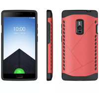 Armor stand tough hard shockproof case for one plus two