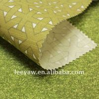 100% poly canvas slub fabric with printing finish