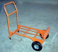 foldable 4 wheel gardening trolley cart