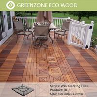 garden balcony coutyard easy to install wpc diy waterproof outdoor decking floor