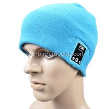 Hot sale in Chile knitted beanie ski bluetooth music hat wireless build in headphone