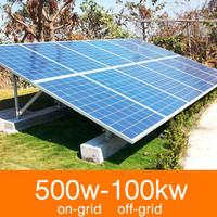 residential solar power pv power station pv panel system