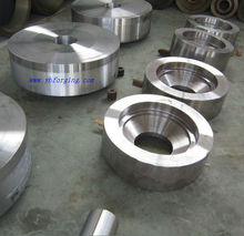 casting hot sale mechnical high precision customized large diameter forging spare parts