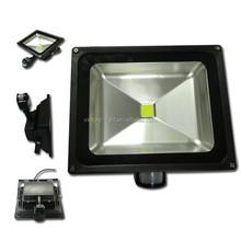50 Watt PIR LED Waterpoof Outdoor Security Motion Sensor Floodlight 100W Halogen Equivalent