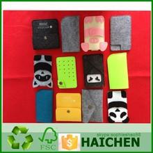 Fashion colorful felt mobile phone case/ Bag/ Pouch/ Cover