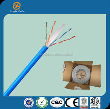 made in china high quality cctv camera with cat6 cable d-link 23awg cat6 lan cable