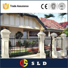 Galvanized garden fence home garden fence garden picket fence made in china