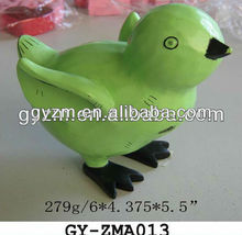 Polyresin animal gift with lucky means
