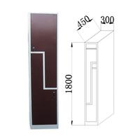 20 Years Factory 2 Door Metal Clothing L Shape Locker
