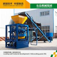 QT4-26 block machine offer / simple concrete block brick making machine