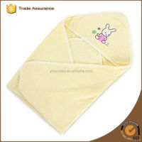 100% Organic Cotton Solid Color Kids Baby Towel With Hooded