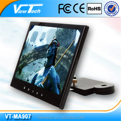 9 inch low voltage android car headrest monitor with wifi 3G