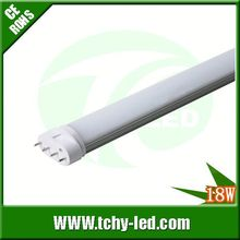 Hot item 100lm/w dimmable led tube g11 4pin for Park