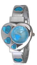 3601L SINOBI Heart Image Modern Smart Japan Movt Quartz For Lady & Student Wrist Watch Made In China