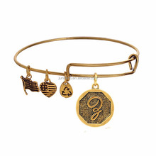 Positive Energy Alex and Ani Letter Lucky Charm Bracelet Jewelry