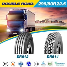 DOUBLE ROAD Alibaba China Trade Assurance heavy duty truck tyre/tire 295 80R22.5 suitable for minning