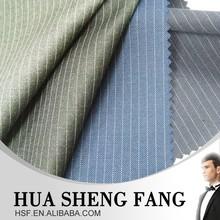 italian 100% wool Narrow Stripe suit fabric